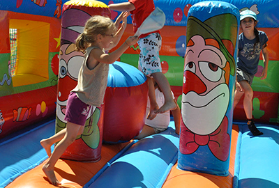 Inflatable games for kids (free)